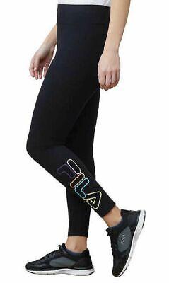 High Waist Leggings - Black - Medium