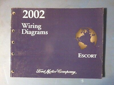 2002 ESCORT WIRING DIAGRAM MANUAL | eBay