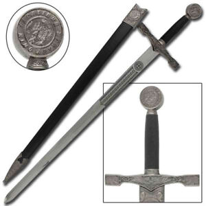 King Arthur Excalibur Replica Steel Blade Medieval ...