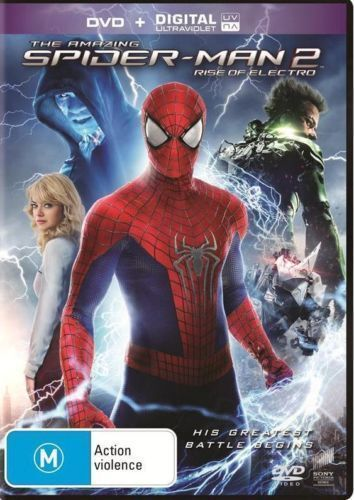 1 of 1 - NEW REGION 4 The Amazing Spider-Man 2 - Rise Of Electro (DVD, 2014)