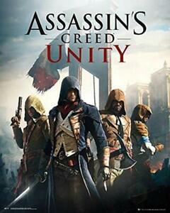 Assassin-039-s-Creed-Unidad-Cubierta-Mini-Poster-40cm-x-50cm-Nuevo-y-Sellado