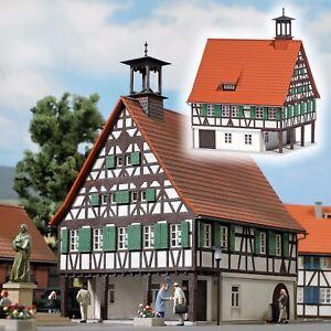 Busch 1598 Échelle H0 Hôtel De Ville # Neuf Emballage D'origine