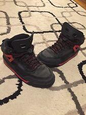 Nike Air Jordan Winterized Spiz'Ike Boot Dark Shadow Black Red Sz 5