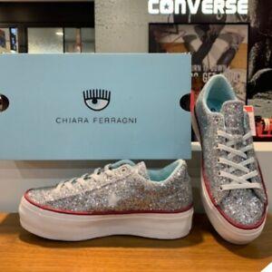 Details about Converse X Chiara Ferragni One Star Platform Sneakers Shoes 562027C Sz 5 10