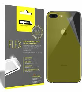 3x-Apple-iPhone-8-Plus-arriere-Film-de-protection-d-039-ecran-recouvre-100-de