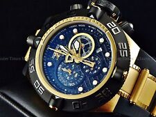 Invicta Men's Subaqua Noma IV Swiss Made Chrono 18K Gold IP Poly Strap Watch