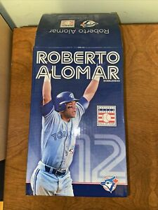 ROBERTO-ALOMAR-Toronto-Blue-Jays-2011-Hall-of-Fame-Bobblehead-In-Box