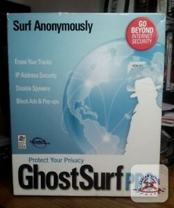 Ghost surf pro PC New Sealed in box.pc 95/98/me/nt/2000/xp