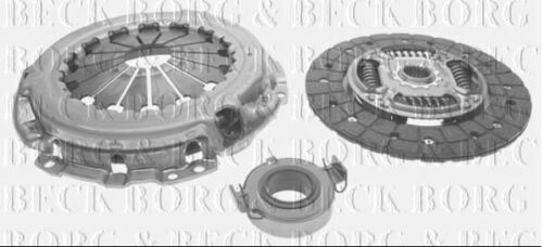 BORG /& BECK CLUTCH KIT 3-IN-1 FOR TOYOTA HATCHBACK AURIS 1.6 91 124