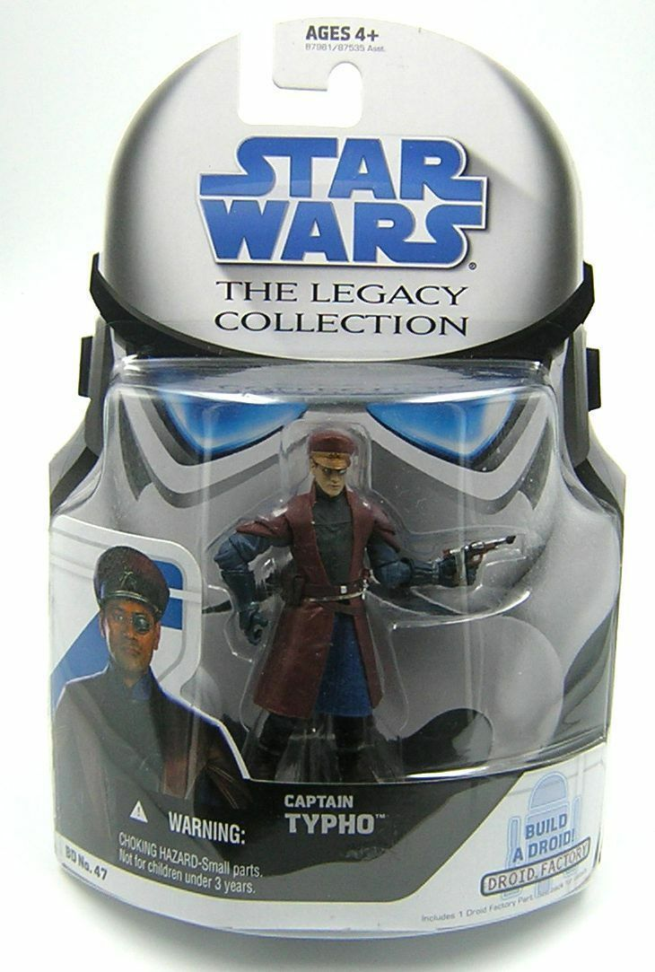 Star Wars Legacy Collection BD47 Captain Typho