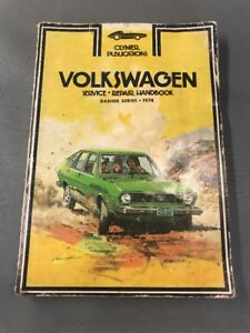 VOLKSWAGEN-VW-DASHER-PASSAT-SERIES-SERVICE-REPAIR-MANUAL-HANDBOOK-1974