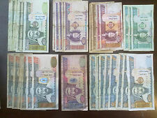 Mongolia: Tugrik banknotes 10000, 5000, 1000, 500, 100, 50, 20, 10. 91660 MNT.