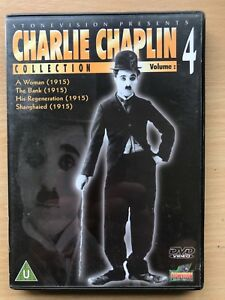 CHARLIE CHAPLIN COLLECTION Vol. 4 ~ Four Great Silent Classics UK DVD
