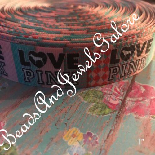 "girly ribbon fashion ribbon fashion hair bows love pink bows fashionista VS 1/"""