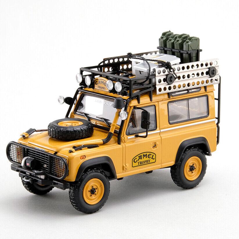 Land Rover Defender 90  CAMEL TROPHY   1 43 Borneo 1985, édition limitée  livraison gratuite et rapide disponible