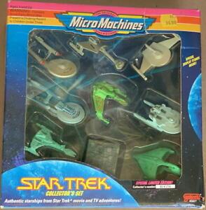 STAR TREK 1993 galoob MICRO MACHINES Collector Set 9 Starships BOX NM! #65827