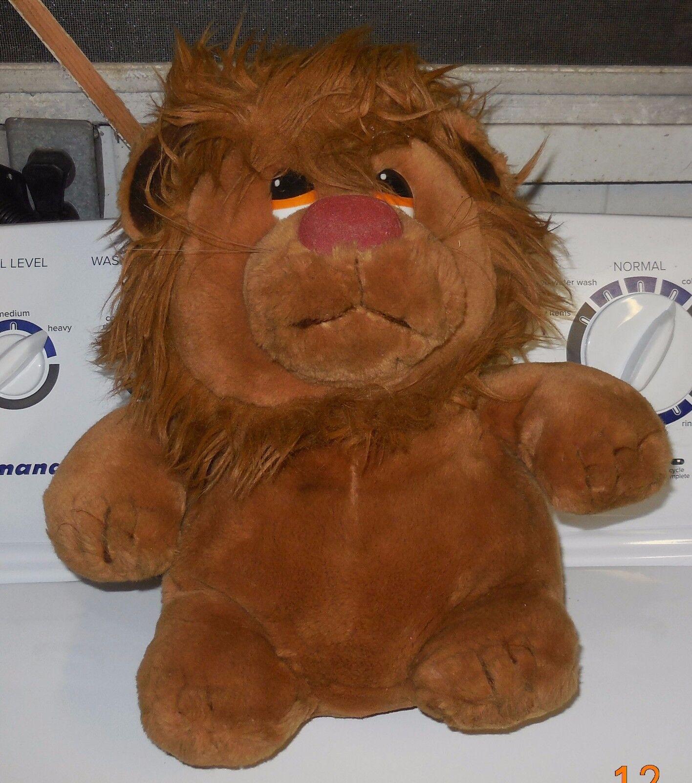 Vintage 1982 R Dakin & Co LUDICROUS 12  Plush Toy Lion Animal Rare HTF