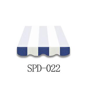 Volant-Markisen-Markisenbespannung-Ersatzstoff-4-m-Neu-NUR-VOLANT-SPD022