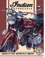 Indian Motorrad 1948 Chief Motorcycle Metall Schild original aus USA