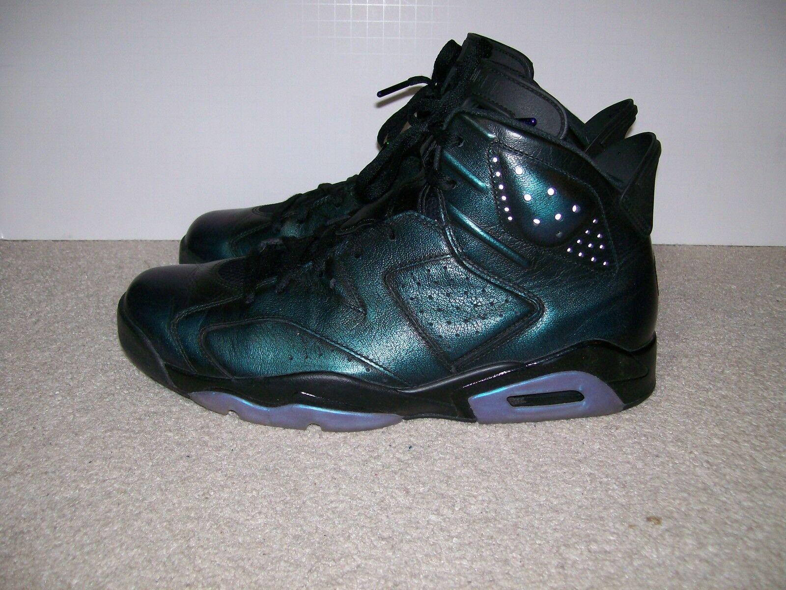 SZ 12 Nike Air Jordan 6 VI All Star infrared Bred 907961 015 XI XII IV Gatorade