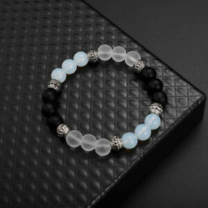 white-crystal-stone-excellent-jewelry-black-matte-agate-energy-stone-bracelet-F