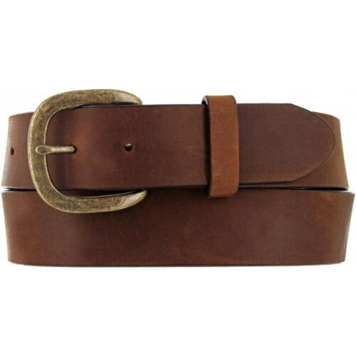 Justin Western Mens Belt Leather Made In The USA Bark 232BD