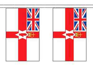 Nordirland Loyalist Polyester Flagge Wimpel 10m With 28 Flaggen Ebay