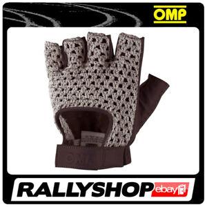 OMP TAZIO Karthandschuh Handschuhe Professionell  Motorsport Schwarz Sport