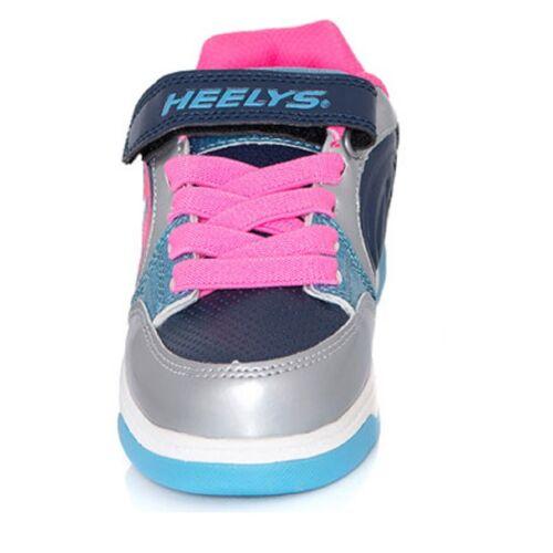 Heelys PLUS X2 GIRLS HEELYS PINK HEELYS DOUBLE WHEEL HEELYS UK SIZE SHOES KIDS