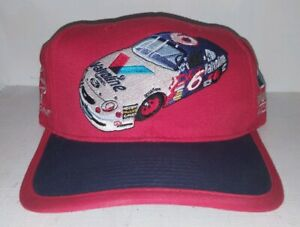 Vintage-Embroidered-Valvoline-Eagle-One-Racing-Red-Baseball-Nascar-Hat-Cap
