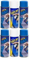 Performix Plasti Dip 11219 Blaze Blue 4 And 11207 White 2 Rubber Spray Cans