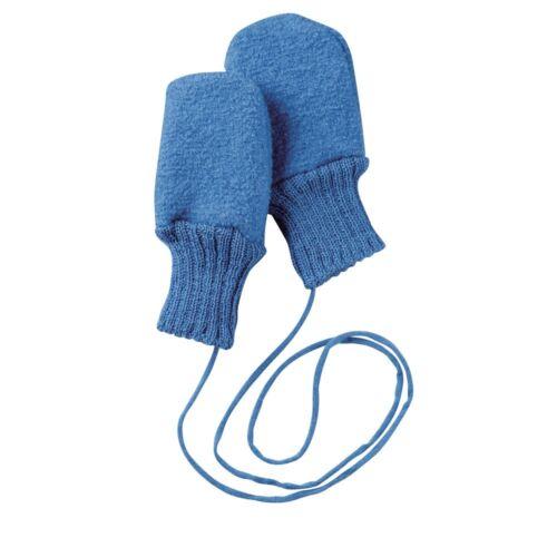 Vollfinger-Handschuhe Baumwolle Baby Strickhandschuhe Mit Seil for 0-12 Month