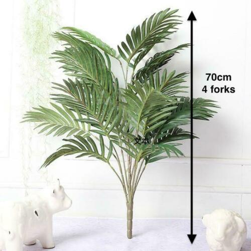 Palm Leaf Plastic Plants Garden Home Decoration Tree Fake Plant Green Artificial