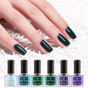 BORN-PRETTY-6ml-Green-Nail-Polish-Peel-Off-Odorless-Fast-Dry-Varnish