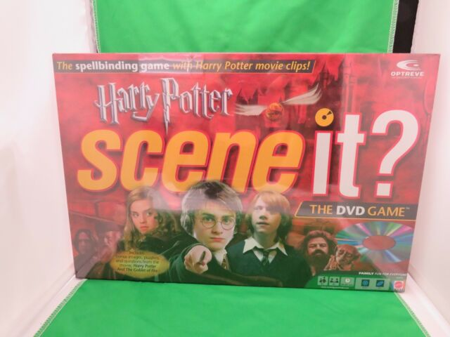 HARRY POTTER SCENE IT? THE DVD GAME