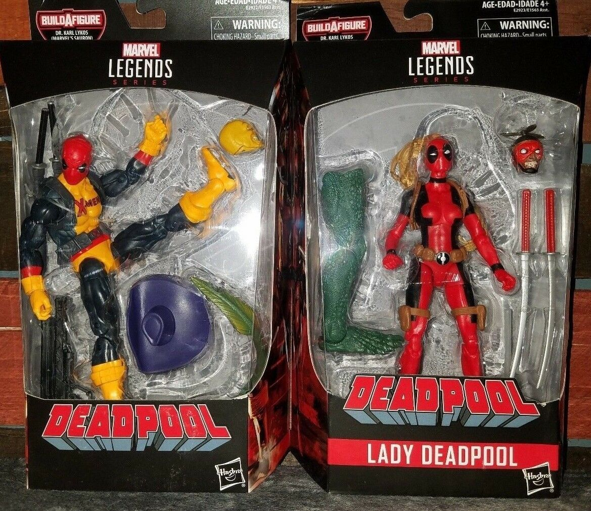 Marvel Legends Series - Deadpool and Lady Deadpool 2 PK- BAF (Marvel's Sauron)