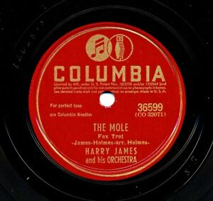 HARRY JAMES 1942 Columbia 36599 - The Mole / But Not For Me