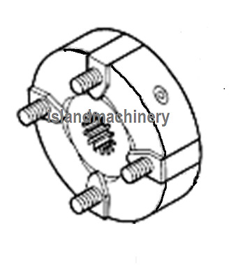 JOHN DEERE EXCAVATOR HYDRAULIC PUMP COUPLING ASSEMBLY REPLACES AT154168 EBay