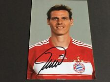 TIM BOROWSKI In-Person FC BAYER MÜNCHEN signed Photo 10x15
