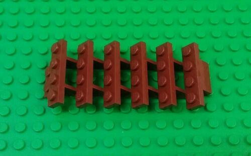 *NEW* Lego Brown Stairs 4x8x10 Staircase 6 Stairwell Building House x 1 piece