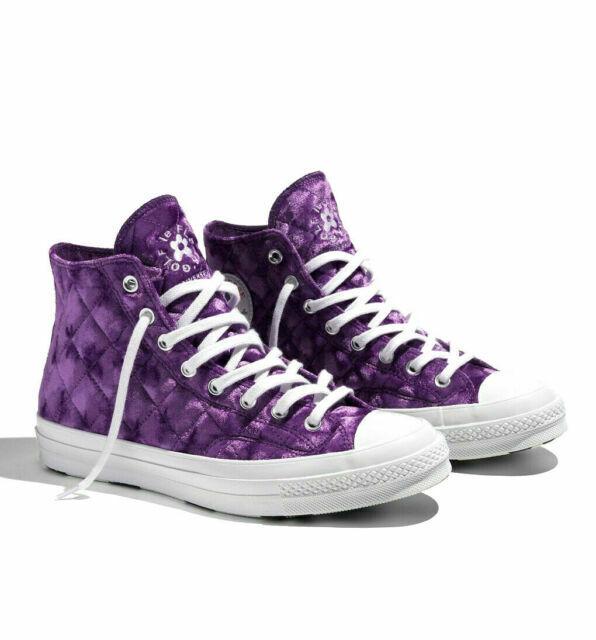 Size 8 - Converse Chuck 70 High x Golf Le Fleur Quilted Velvet ...