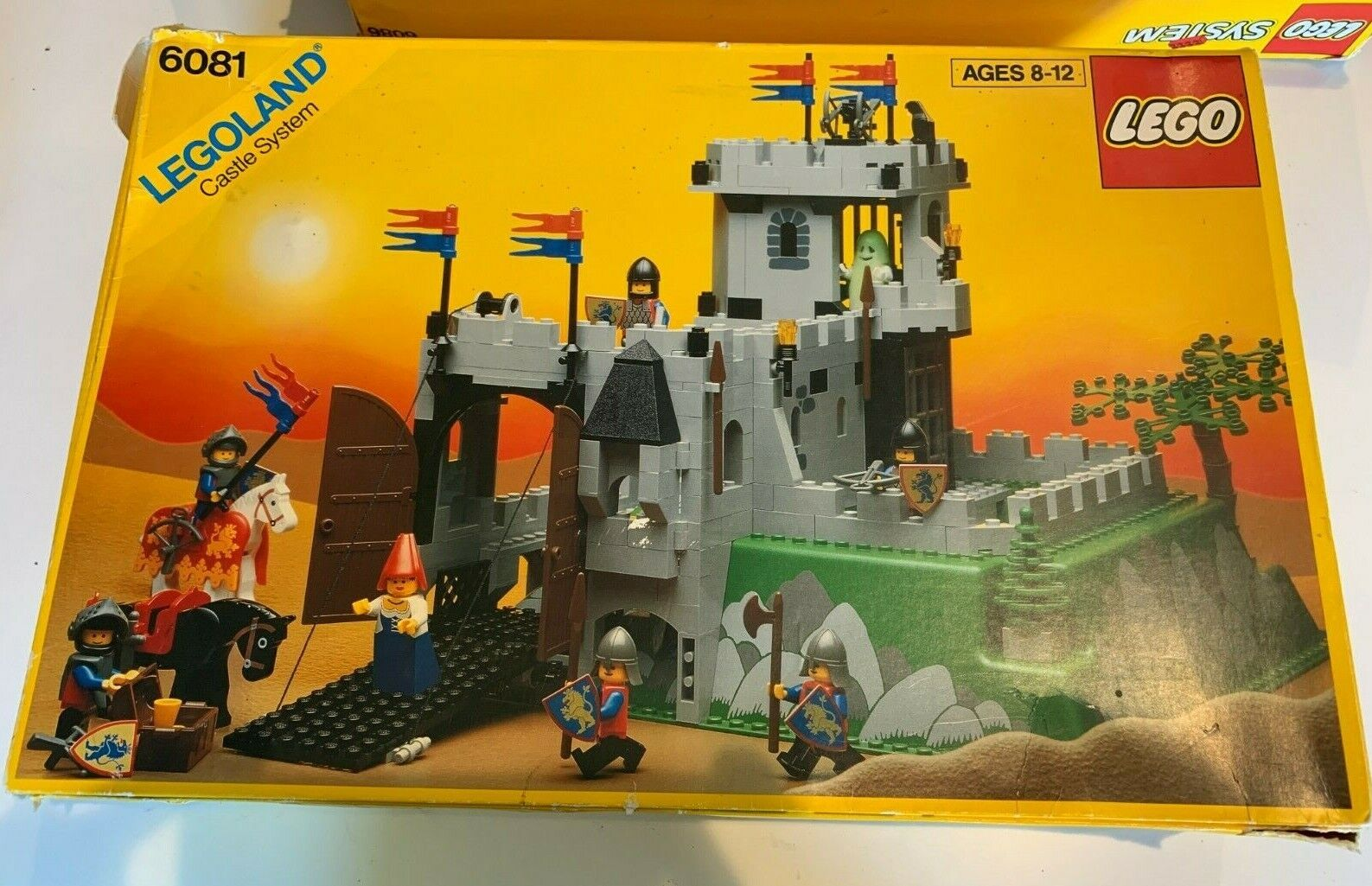King's Mountain Fortress Lego Castle System 1990 MIB KOMPLETE