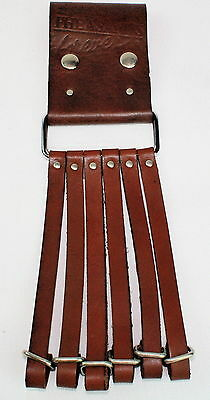 Pheasants TAGUA HUNTING SERIES Brown Leather Belt Strap Carrier for Waterfowl