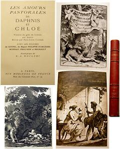 DAPHNIS-ET-CHLOE-ED-HORIZONS-DE-FRANCE-1947-ILLUSTREE