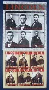 Grenade 2010 A Lincoln Politique Histoire Le Président Américain 6291-96 Tamponné Neuf Sans Charnière