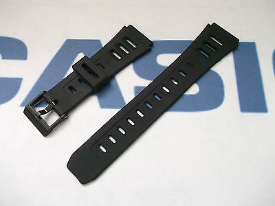 Aggressiv Casio W86 W71 W72 Jc11 W740 Dw250dgj Gpx1000 Resin Aftermarket 19mm Watch Strap
