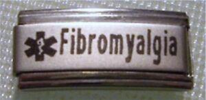 9mm-Classic-Size-Italian-Charm-Superlink-Medical-Alert-L101-Fibromyalgia