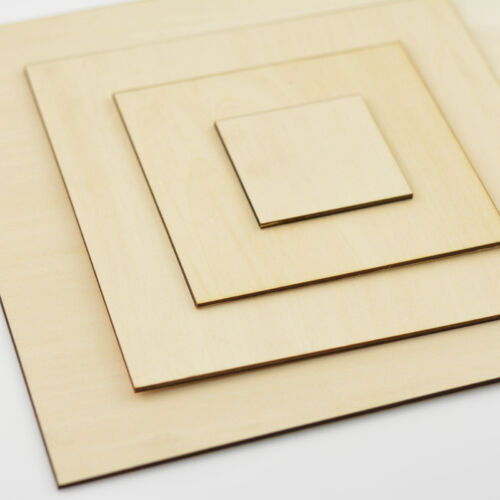 10PC Basswood Sheet 100x50mm Thick 2mm For Model Maker
