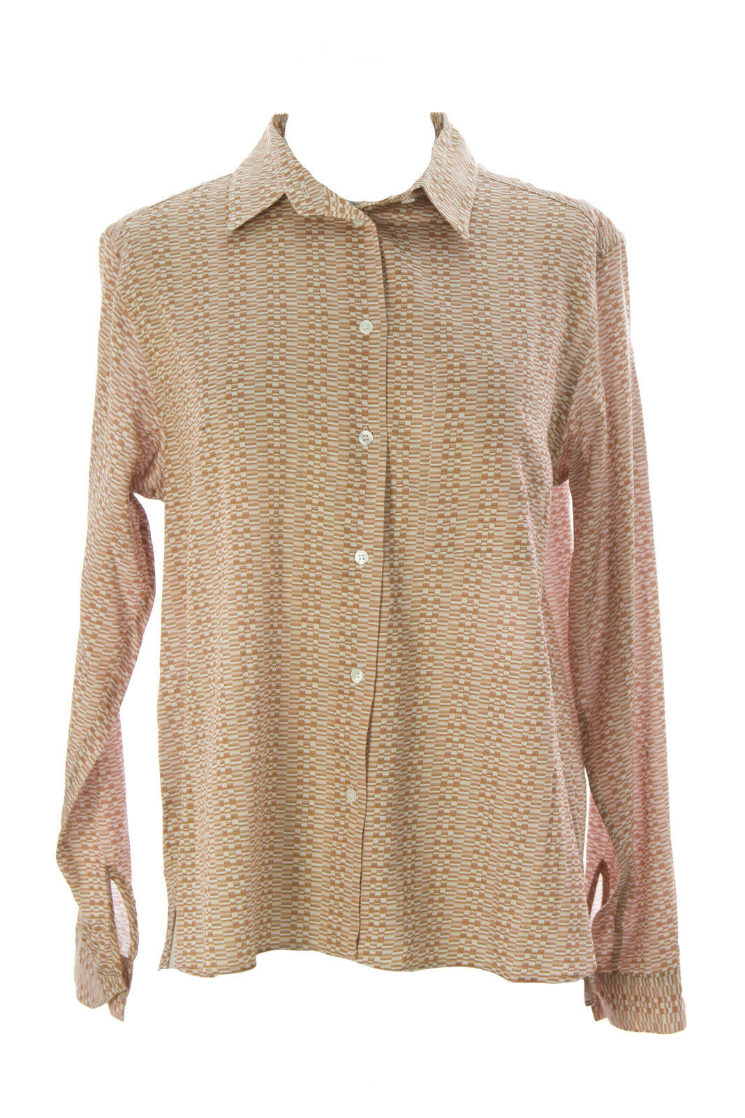 Oberfläche zu Luft Damen Gebrannte Sienna Bedruckt Zulu Shirt Neu