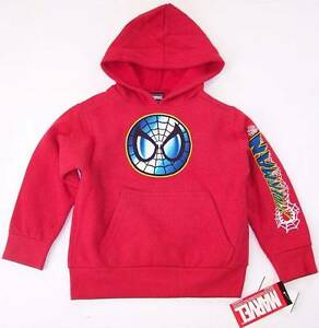 e0e4091be19 NWT Mad Engine Marvel Boy s Spider-Man Spiderman Red Sweatshirt ...